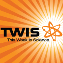 TWIS logo orange square